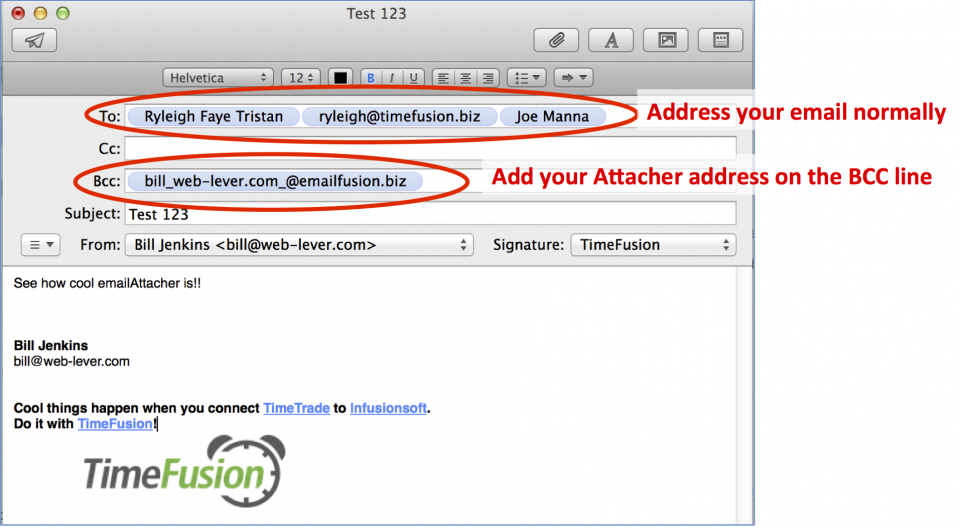 Email annotated